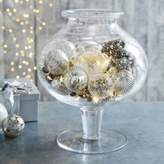The White Company Glass Footed Vase