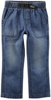 Carter's Toddler Boy Buckled Denim Pants