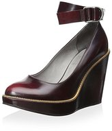 Brunello Cucinelli Women's Platform Wedge with Ankle Strap