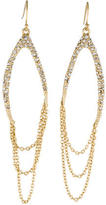 Alexis Bittar Crystal Embellished Drop Earrings