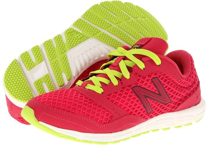 New Balance W630V2 (Pink/White/Yellow) - Footwear