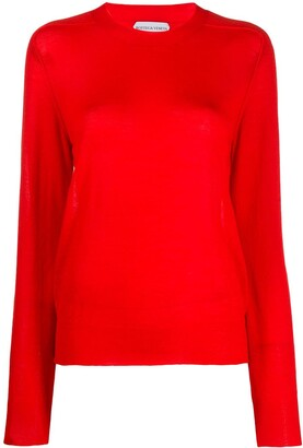 Bottega Veneta Crewneck Knitted Jumper