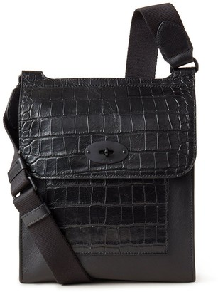 Mulberry Antony Black Mixed Material