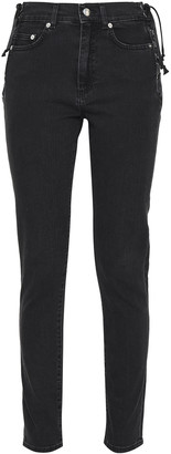 McQ Lace-up High-rise Skinny Jeans