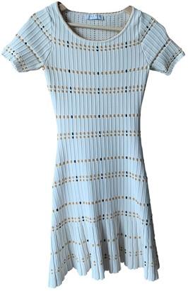 Sandro Spring Summer 2018 Ecru Cotton Dress for Women
