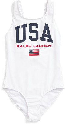 Ralph Lauren USA One-Piece Swimsuit