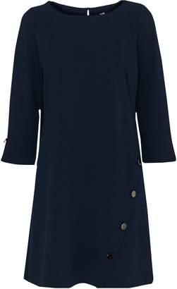 Wallis Navy Stud Detail Shift Dress
