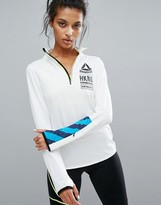 Reebok Training Long Sleeve Zip Top