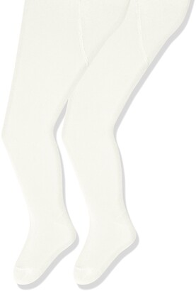 Sterntaler Tights Double Pack for Toddlers Age: 2-3 years Size: 92 White/Beige