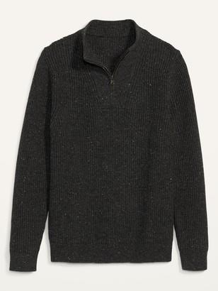 Old Navy Cozy Mock-Neck Quarter-Zip Sweater for Men