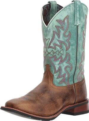 Laredo Women Anita 5607 Boot Brown - Turquoise 9