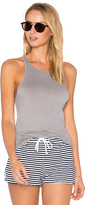 Stateside Lightweight Jersey Tank in Gray. - size L (also in M)