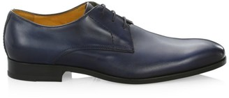 Saks Fifth Avenue COLLECTION Duncan Leather Derby Shoes