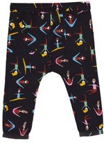Margherita Toddler Girl's Stretching Print Harem Pants