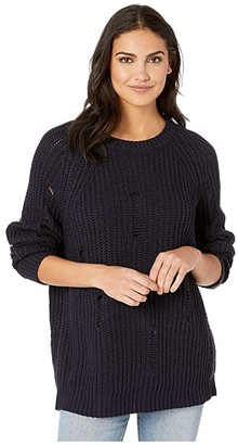 Bishop + Young Simone Sweater (Navy) Women's Sweater