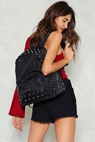 Nasty Gal nastygal WANT Stepping Stone Studded Backpack