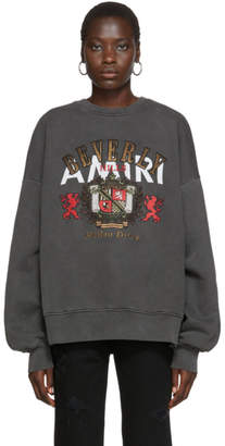 Amiri Black Beverly Hills Sweatshirt