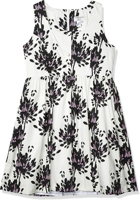 Helene Berman Women's Black and Pink Flower Sundress