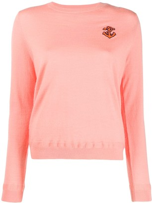 Parker Chinti & anchor embroidered sweater