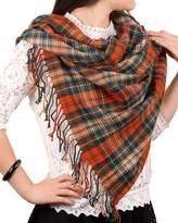 Spring fever Women's Super Soft Luxurious Elegant Autumn Winter Plaid Scarves