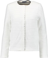Petit Bateau Quilted cotton-blend jacket
