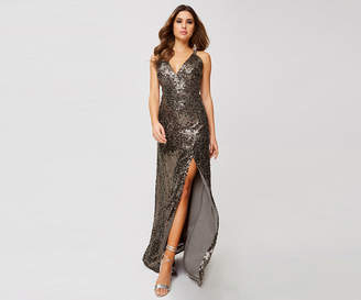 Oasis Sequin Maxi Dress