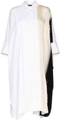 Joseph Dania pleated cotton shirt dress