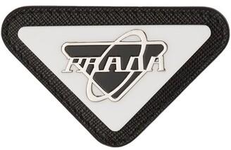 Prada Logo Plaque Pin