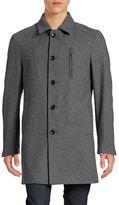 Sondergaard Slim-Fit Wool-Blend Overcoat