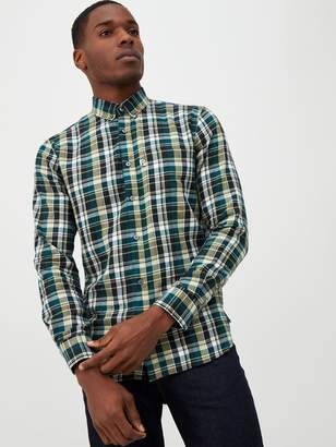 Penfield Barrhead Brushed Check Shirt - Green