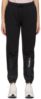Nike Black Sportswear Mix Street Lounge Pants
