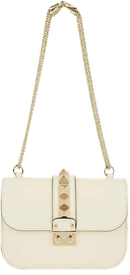 Valentino Small Rockstud Lock Bag