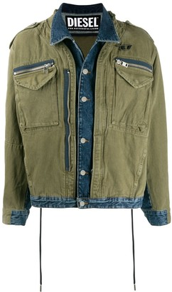 Diesel Cargo Pocket Denim Jacket