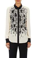 Prabal Gurung Women's Embellished Chiffon Blouse