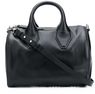 Just Cavalli Smooth Leather Tote Bag