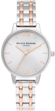 Olivia Burton Women's England Two-Tone Stainless Steel Bracelet Watch 30mm