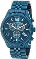 Akribos XXIV Men's AK799BU Swiss Chronograph Quartz Movement Watch with Blue Dial and Bracelet