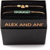 Alex and Ani Love & Luck Bracelets, Set of 2, Gold
