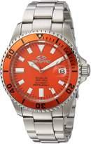 Seapro Men's SP4315 Scuba 200 Analog Display Automatic Self Wind Silver Watch