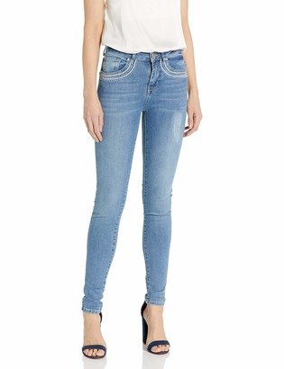Desigual Women's Louisette Embroidered Detail Denim Trousers