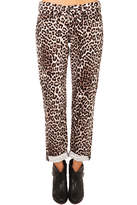 Rag & Bone Boyfriend Snow Leopard Jean