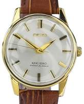 Seiko King Gold Plated Manual Wind 36mm Mens Watch 1960s