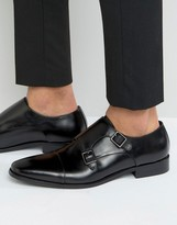 Dune Putney Monk Strap Shoes