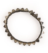 Eddie Borgo Pyramid Bracelet, Gunmetal