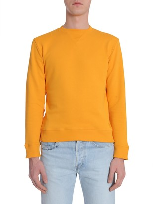 Saint Laurent Round Collar Sweatshirt