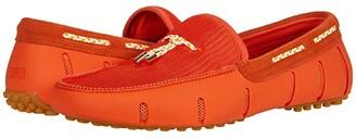 Swims Lux Tassel Loafer Driver (Orange) Men's Shoes