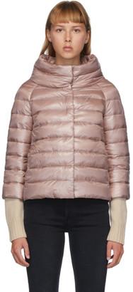 Herno Pink Down Sofia Jacket