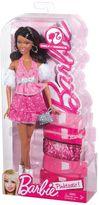 Mattel Barbie Pink-Tastic Wavy Brunette Doll by