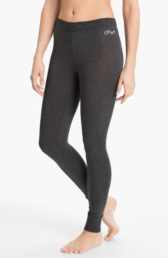 DKNY Base Layer Cuff Leggings