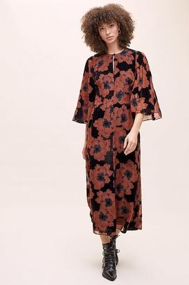 Anthropologie Cassandra Devore Floral Dress